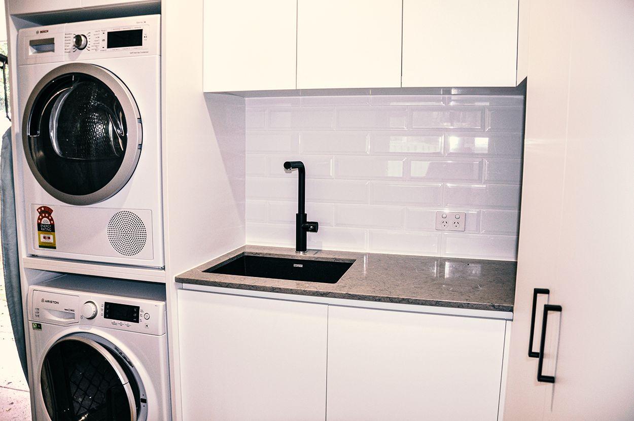 best washing machine cabinet in kitchen